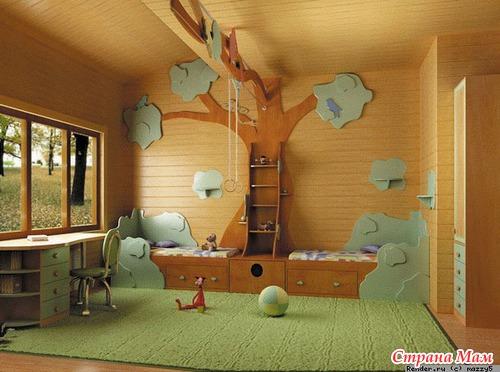 Ремонт комнаты своими руками для мальчика