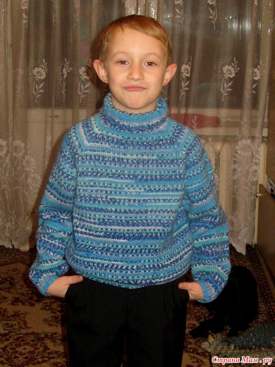 Свитер-реглан для мальчика - Свитера и кофты - Схемы 27
