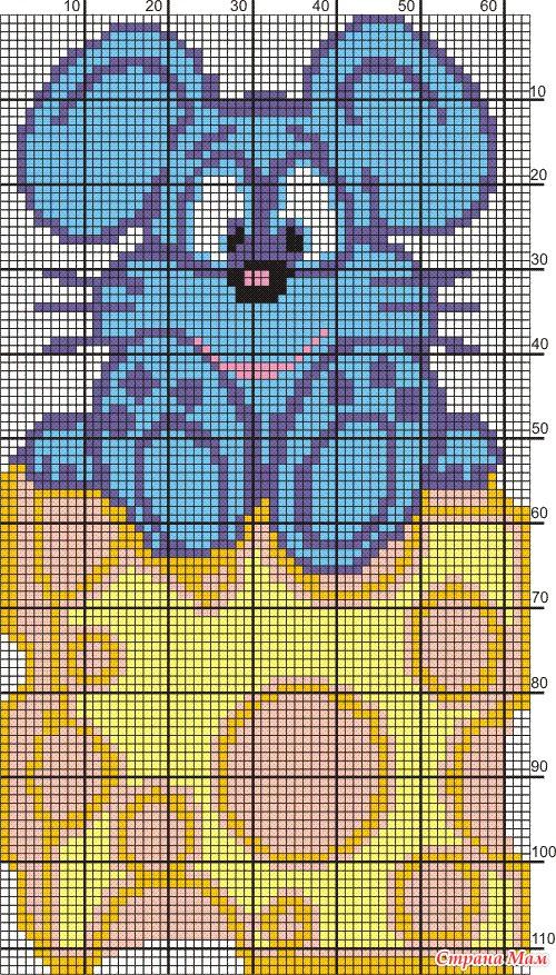 Схемкы-картинки для вязания.