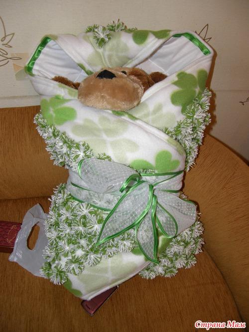 Одеяло на выписку своими руками фото