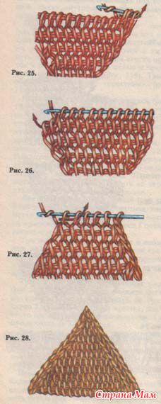 Урок № 3 - тунисское вязание