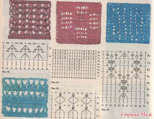 *Тунисское вязание.