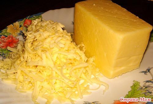 Тарелка из сыра как сделать