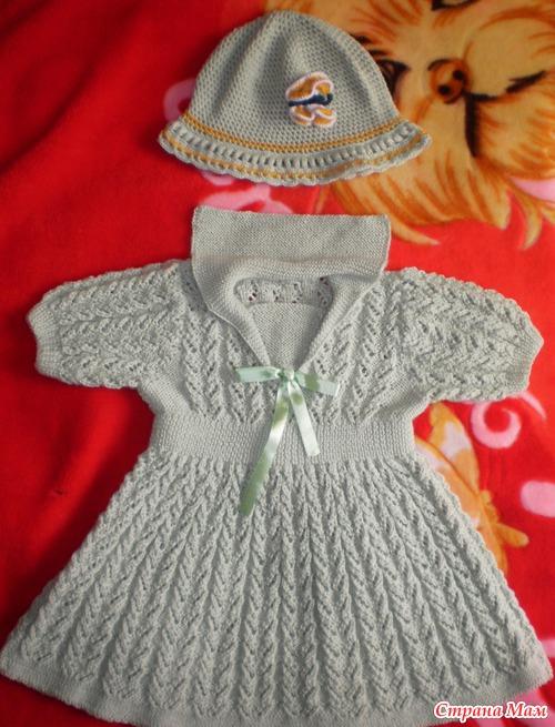 Ещё одно платьице - Вязание для детей - Страна Мам