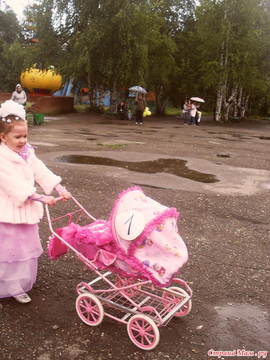 Фото детских колясок украшенных своими руками
