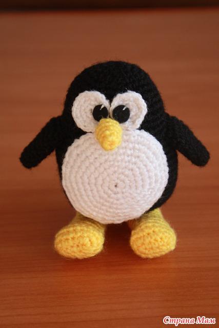пингвин вязание страна мам