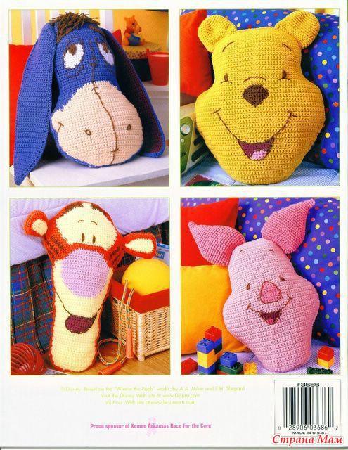 Вязание детских подушек