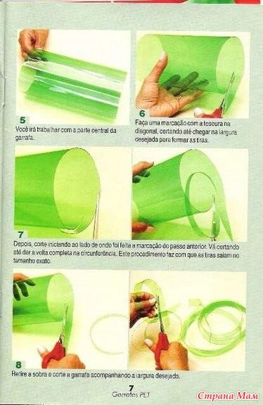 Корзины своими руками мастер класс из пластиковых