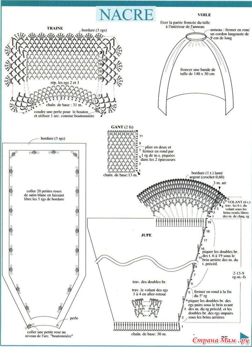 Крючок выкройки для барби схема