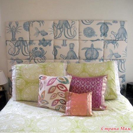 Как сделать подушку на стену