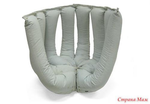 Кресло груша из старых джинсов своими руками 33