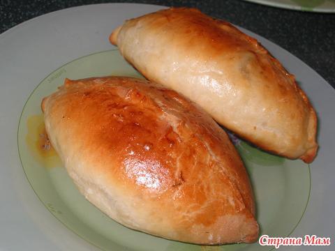 Пирожки на кефире из воздушногоы