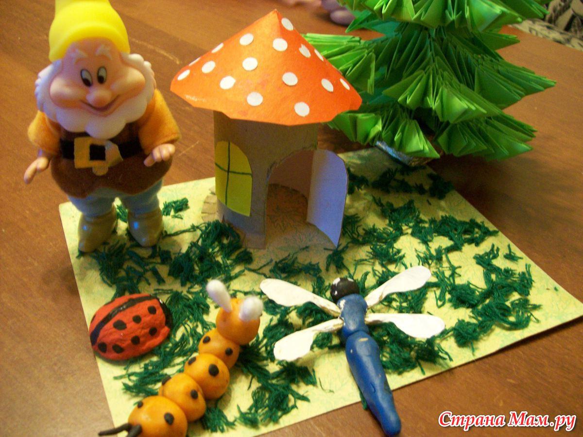 Экологические поделки своими руками для детей6