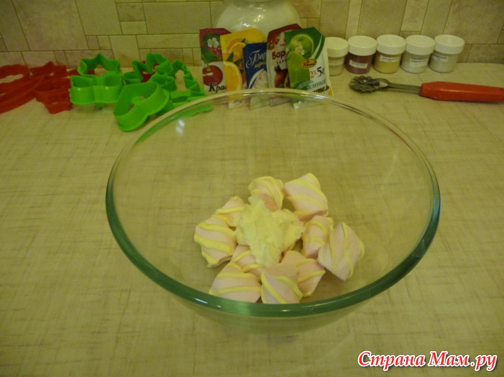 Мастер класс приготовления мастики для торта