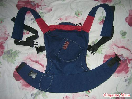 Как сшить эргономичный рюкзак переноску 32
