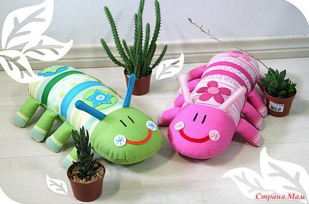 Забавные игрушки для детей своими руками