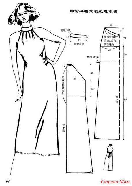 Сшить летнее платье выкройки