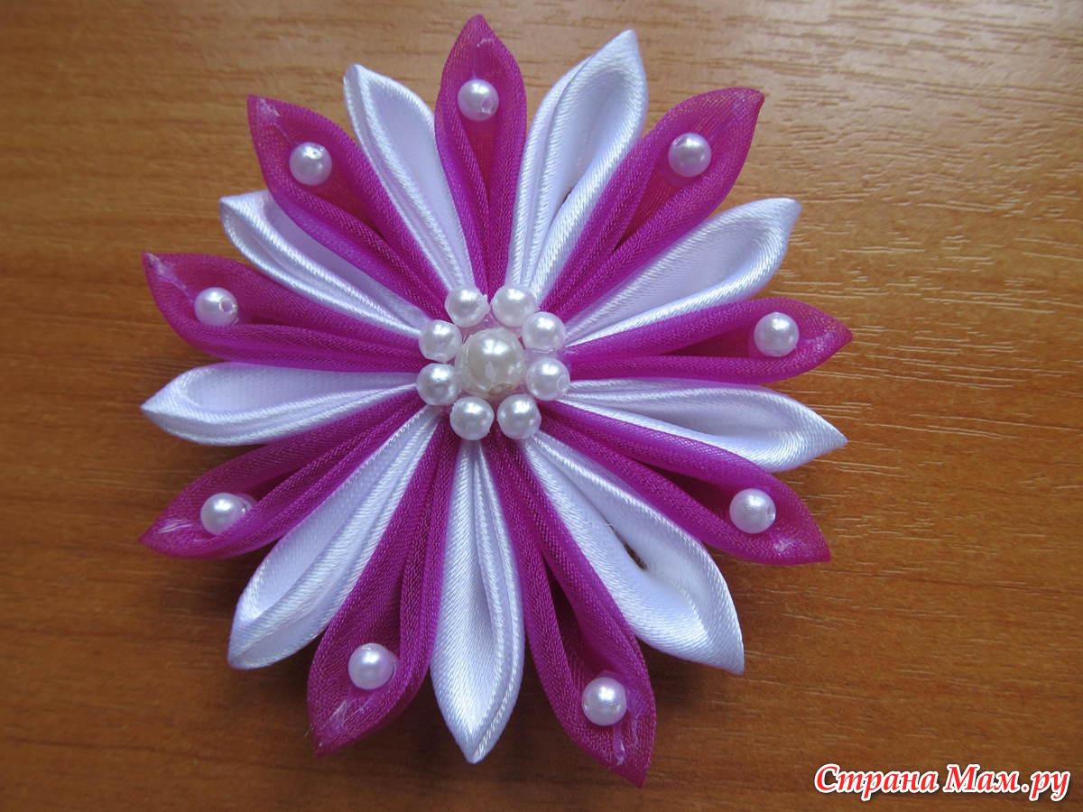 Виды цветов канзаши фото