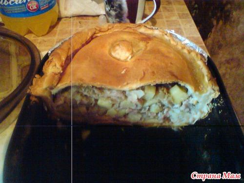 Курник татарский рецепт с фото