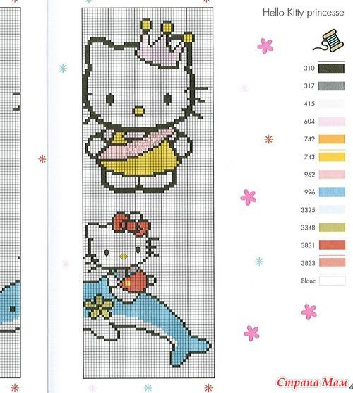 My Hello Kitty au point de croix - 2 (вышивка) - Клуб рукоделия - Страна Мам