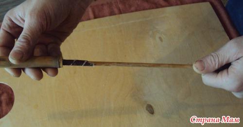 Как сделать флейту из тростника