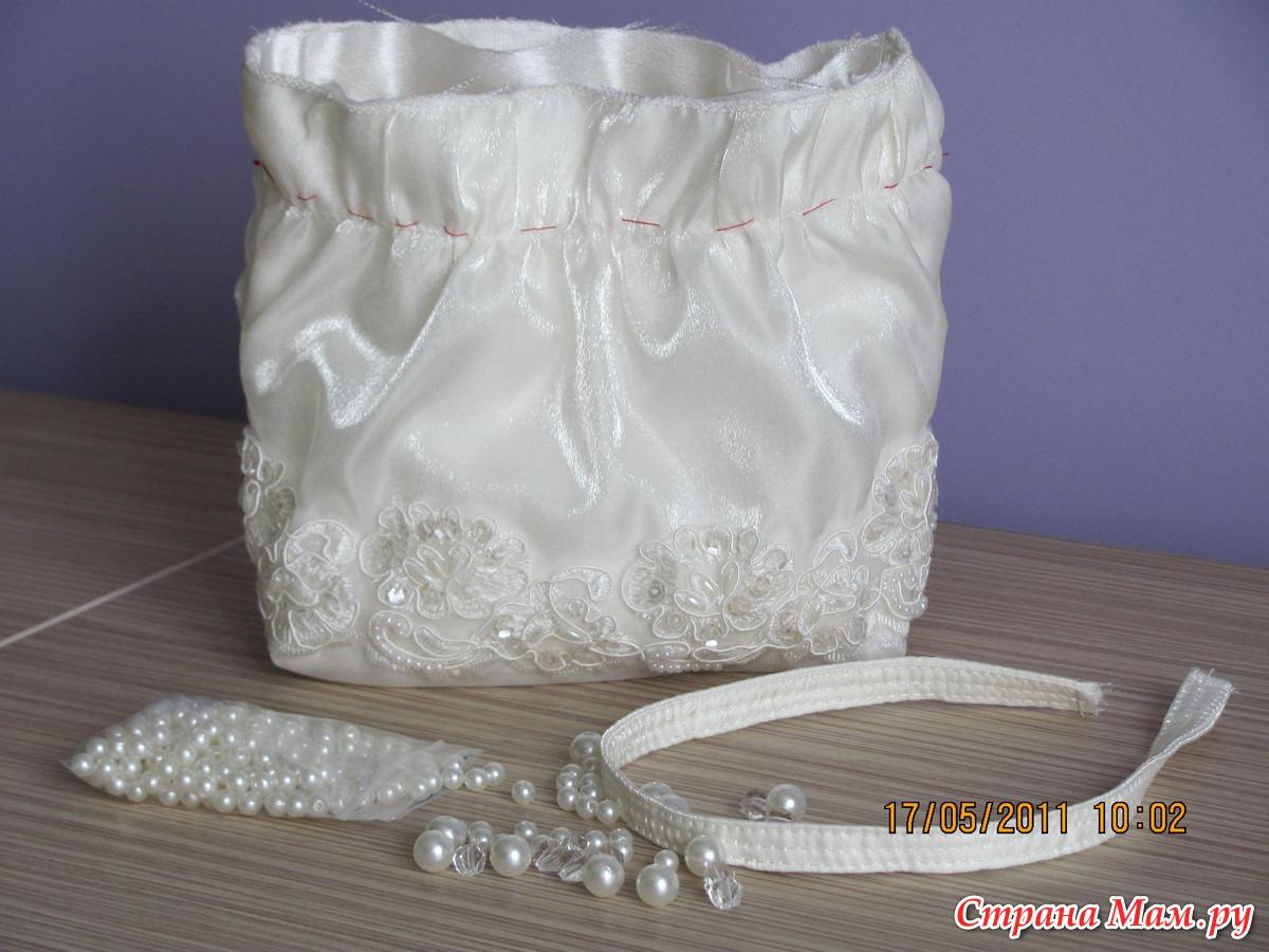 Детская сумочка своими руками для нарядного платья