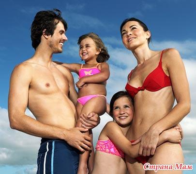 Нудисты семейные фото
