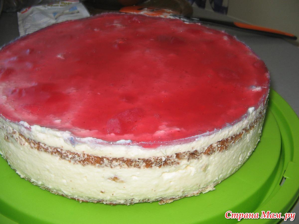 Как сделать желе на торт
