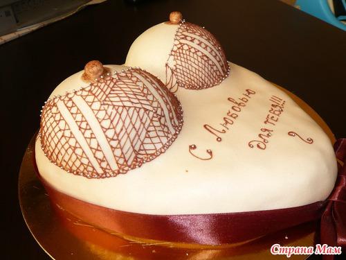 Рецепт торта грудь фото