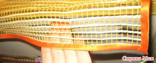 Из малярной сетки поделки 6