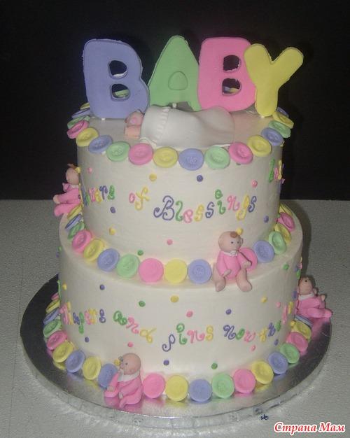 торт для ребенка с фото