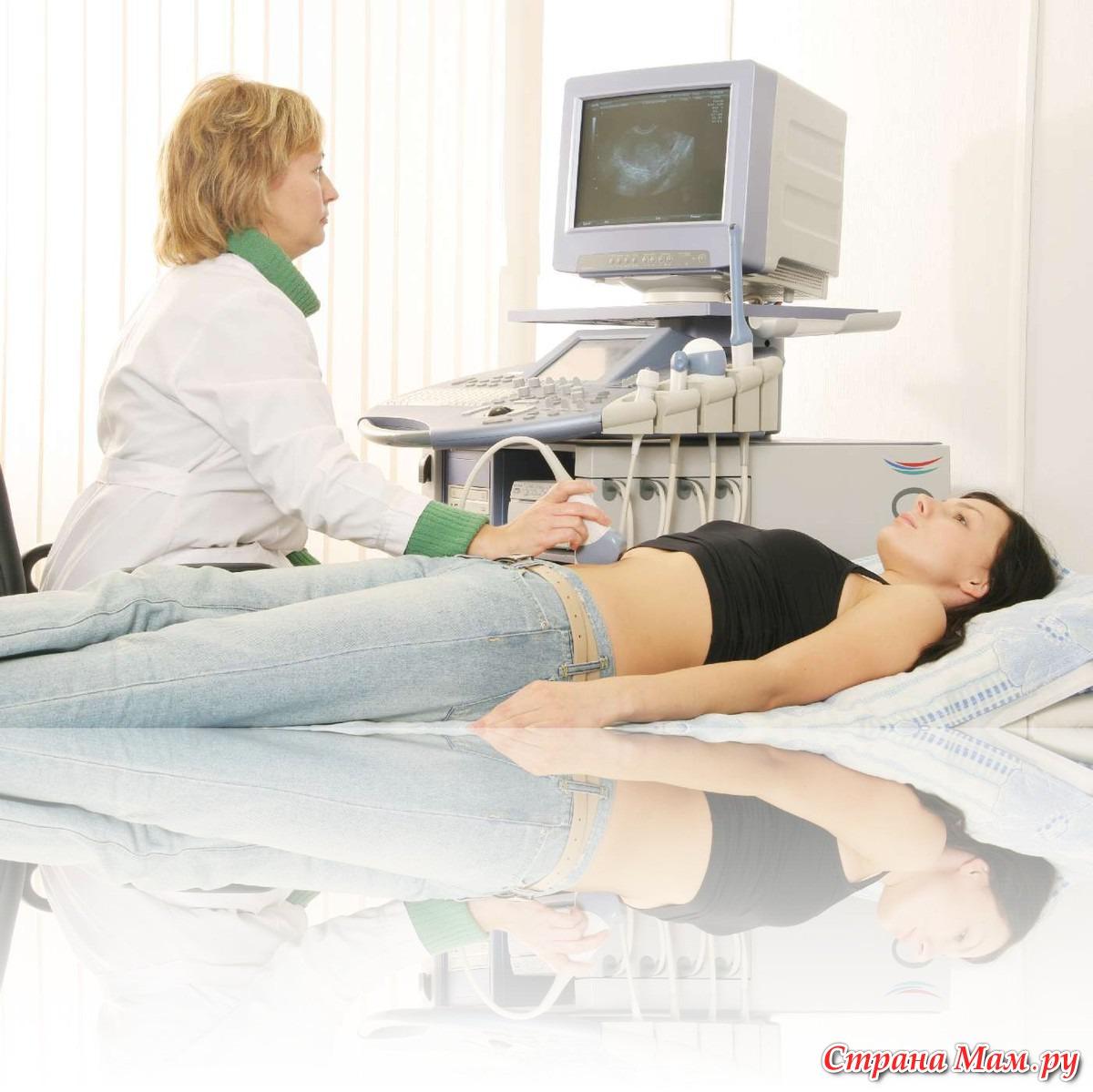 Веселый гинеколог на приеме
