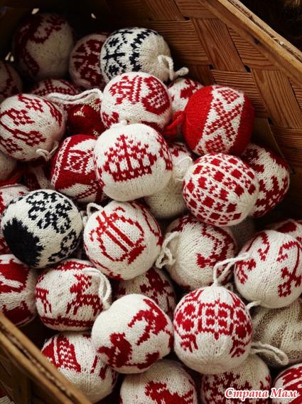 норвежских узоров вязания