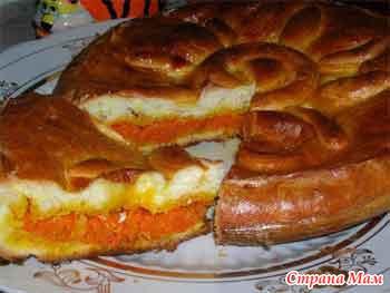 Сладкий пирог с морковкой рецепт