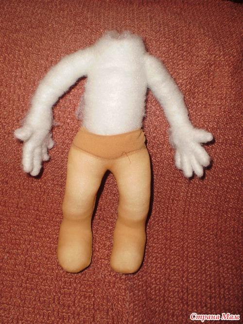 Каркасные куклы из капрона своими руками мастер класс