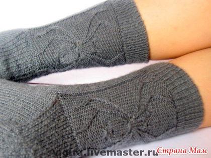Шерстяные тонкие носки
