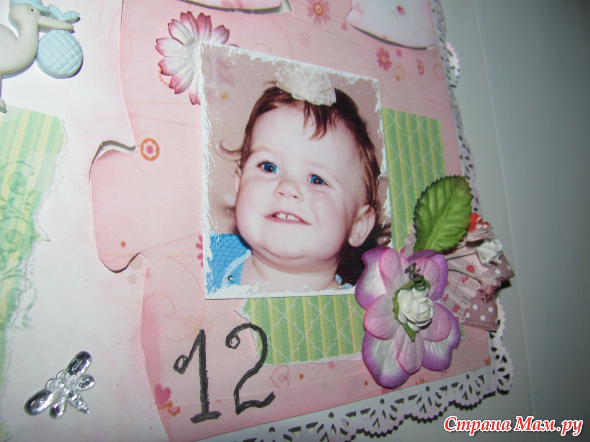 Коллаж на годик ребенка фото