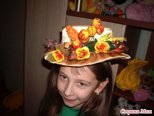 Шляпа для осеннего бала своими руками