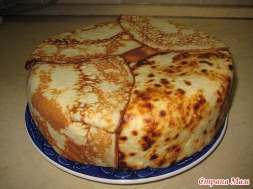 Торт блинный рецепт пошагово в домашних условиях