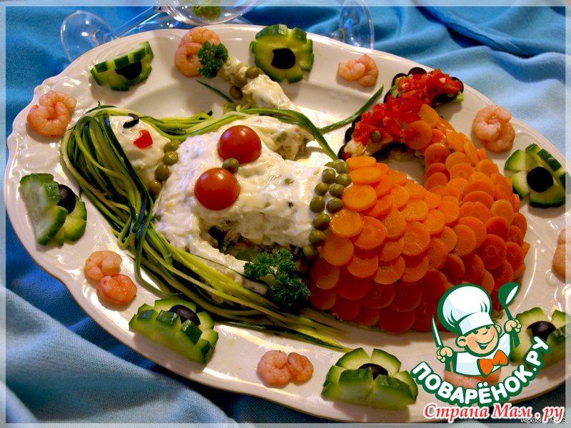 салаты для рыбаков