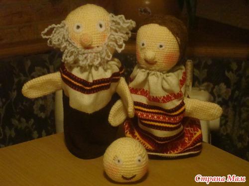 Кукольный театр колобок своими руками