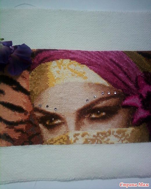 На этой странице представлены схемы вышивки с тегом «глаза»