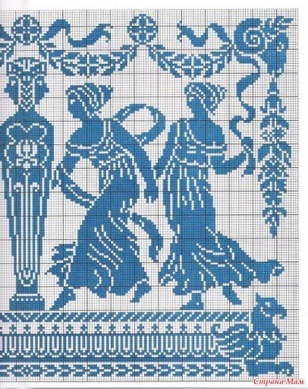 Схема вышивки гречанки 60