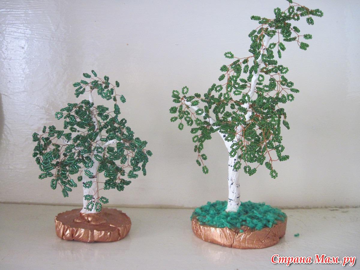 Маленькие деревца своими руками 23