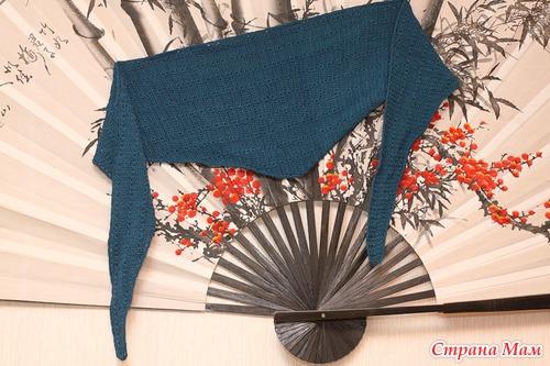 Японские бактусы спицами
