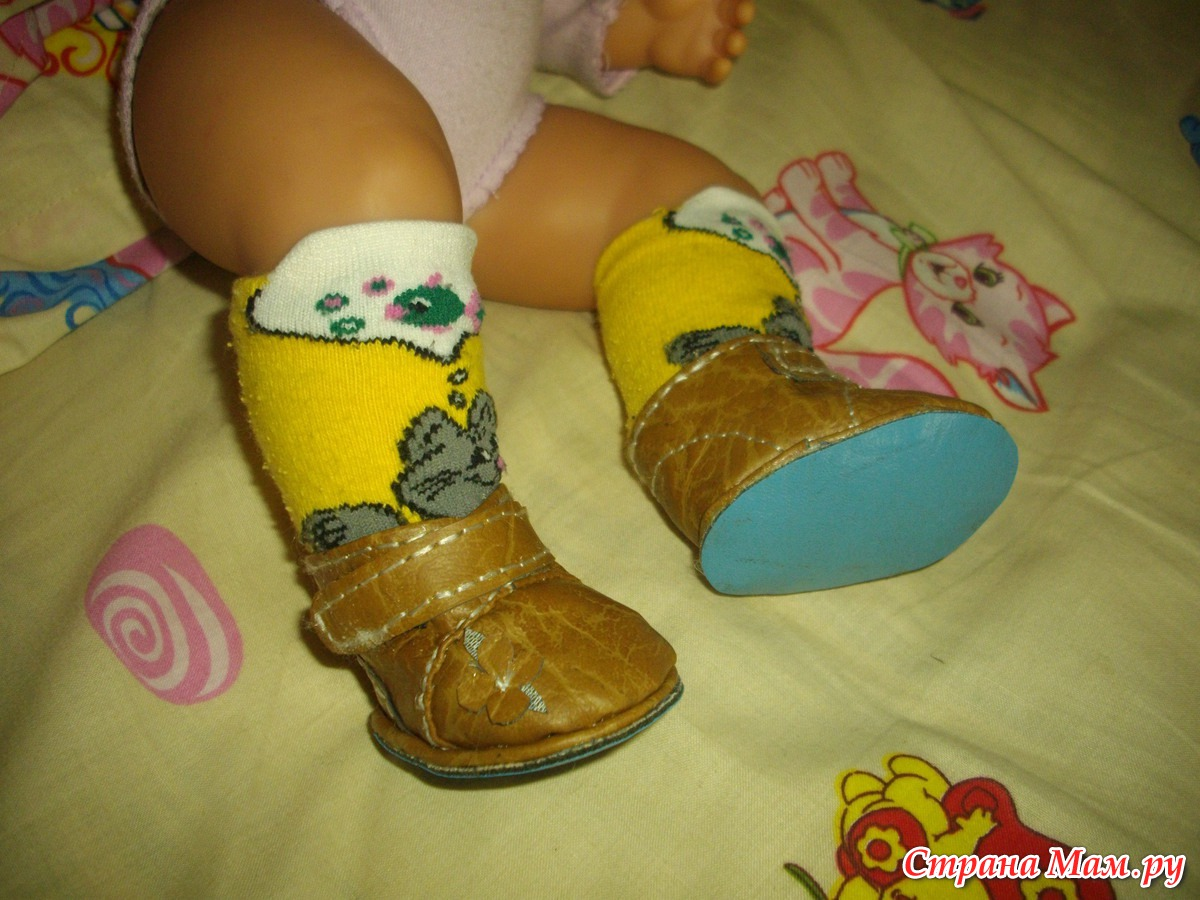 Поделки своими руками обувь для