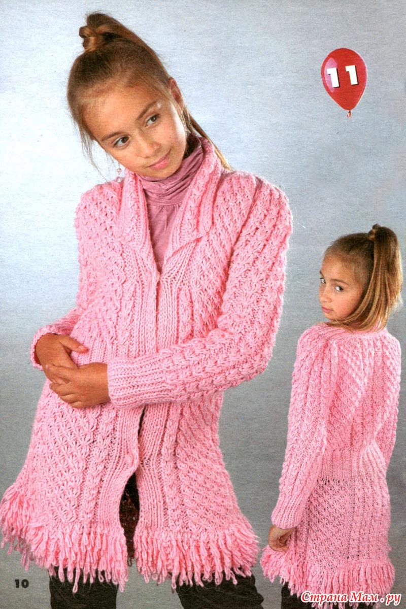 Вяжем свитер с описанием