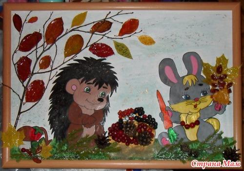 Поделки на тему осень для детского