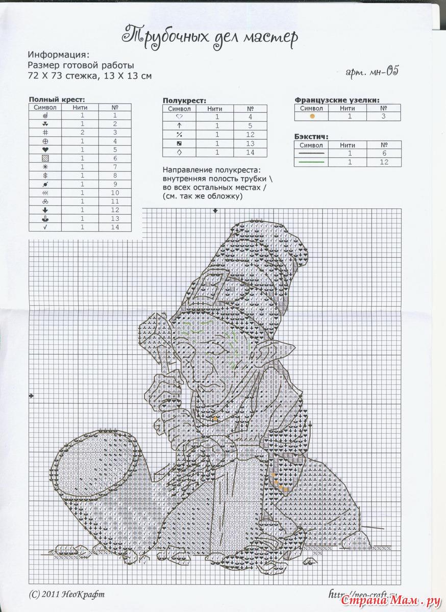 Схемы вышивок крестом неокрафт