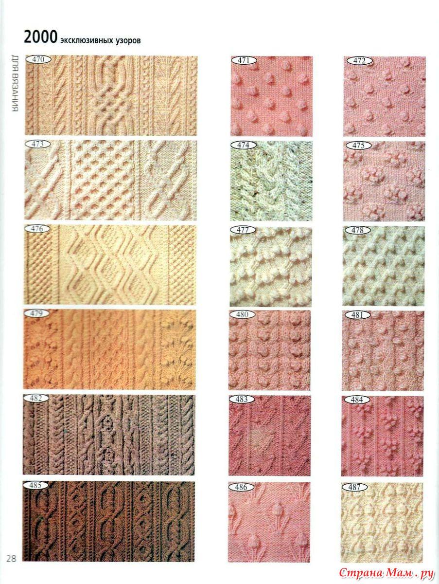 Скачать торрент 2000 эксклюзивных узоров для вязания (2000) 87